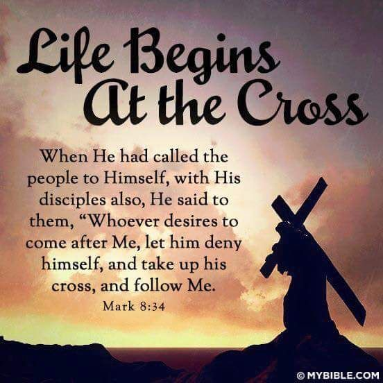 Take Up Your Cross (Mark 8:27-38)