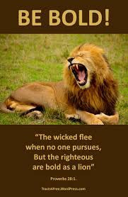 Courageous in Christ (Proverbs 28:1)   The Reel Deal
